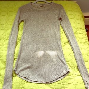 Lululemon Grey Knit Sweater